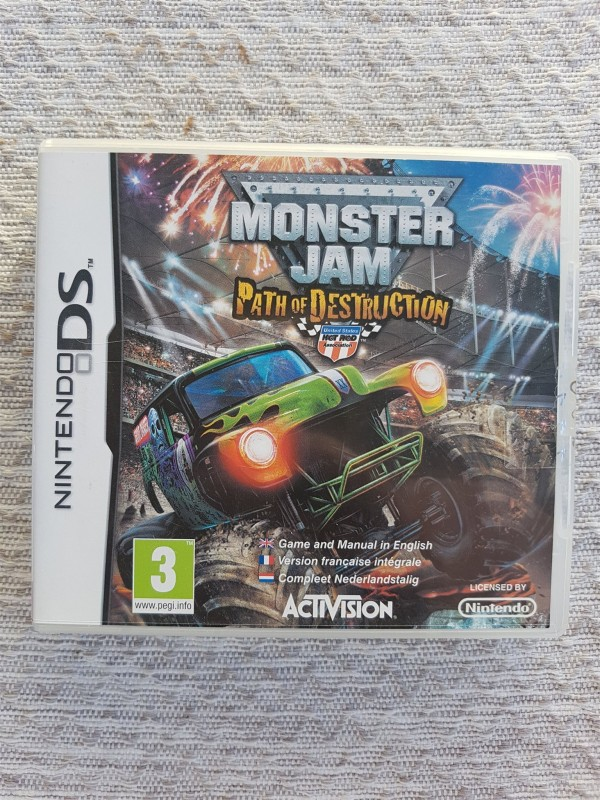 Monster Jam 3: Path of Destruction - Nintendo DS