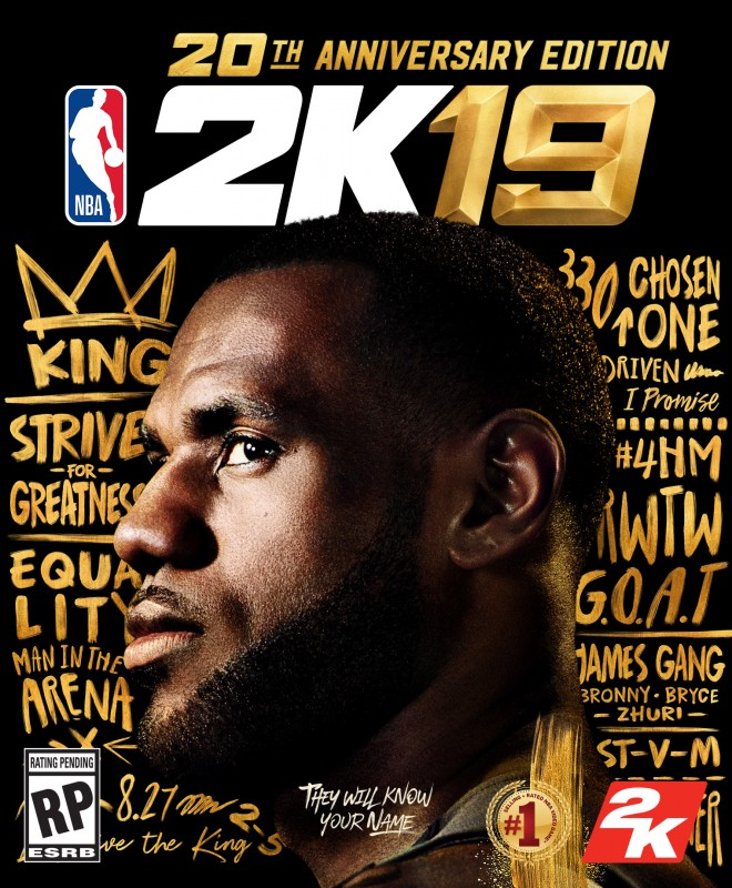 NBA 2K19 20th Anniversary Edition By 2K