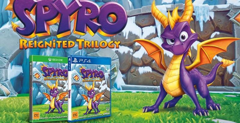 Spyro Reignited Trilogy - PlayStation 4 - XBox One